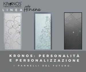 Pannelli in vetroresina Kronos, linea Athena