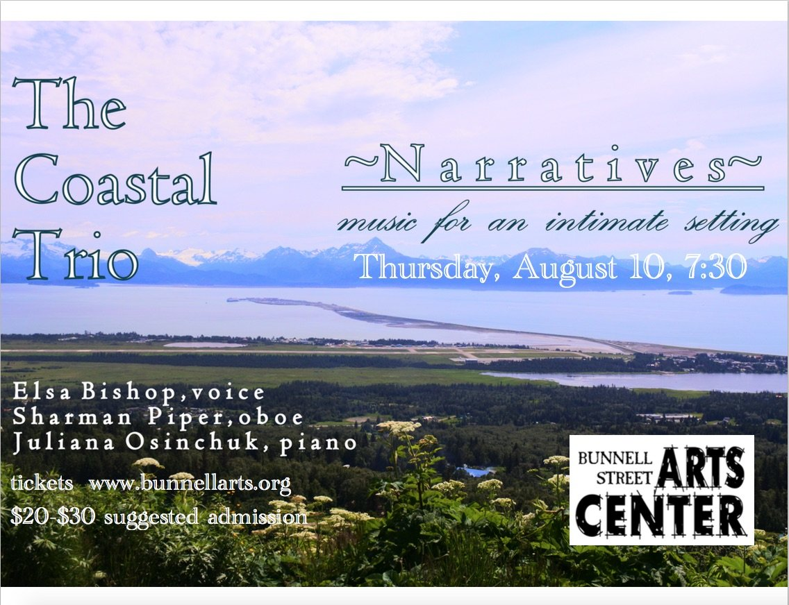 The Coastal Trio – Thursday, August 10 @730p