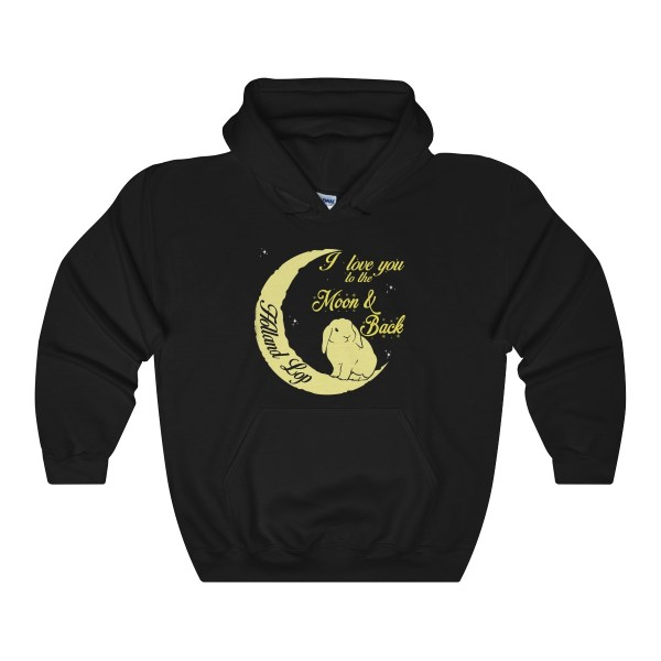 Holland Lop I Love You To The Moon And Back – Hoodie