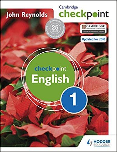 Cambridge Checkpoint English 1 Reynolds - bunpeiris Literature