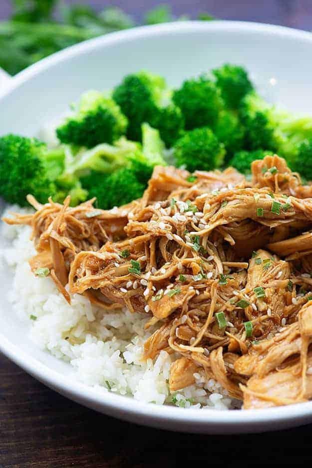 Crockpot Honey Garlic Chicken recipe