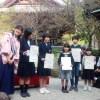 小数大好き書道題字コンテストでの優子社長の挨拶