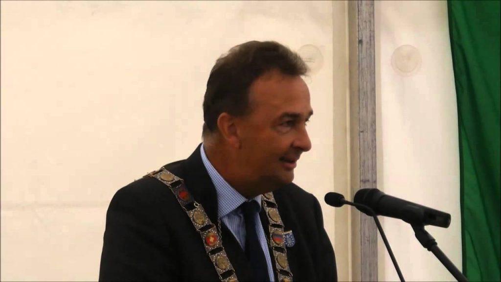 Karl, attuale Capo della Casa degli Asburgo, nel corso della Europaschützenfest a Peine nel 2015 (Schützenwesen in Europa).