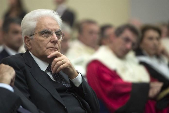 Sergio Mattarella giudiziarizzazione