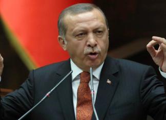 Recep Tayyip Erdogan Turchia