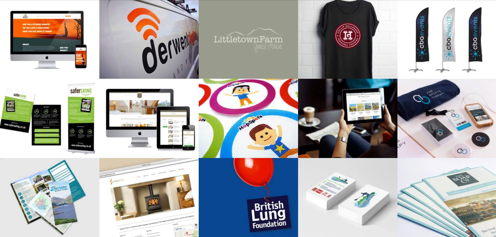 graphic and web design cumbria