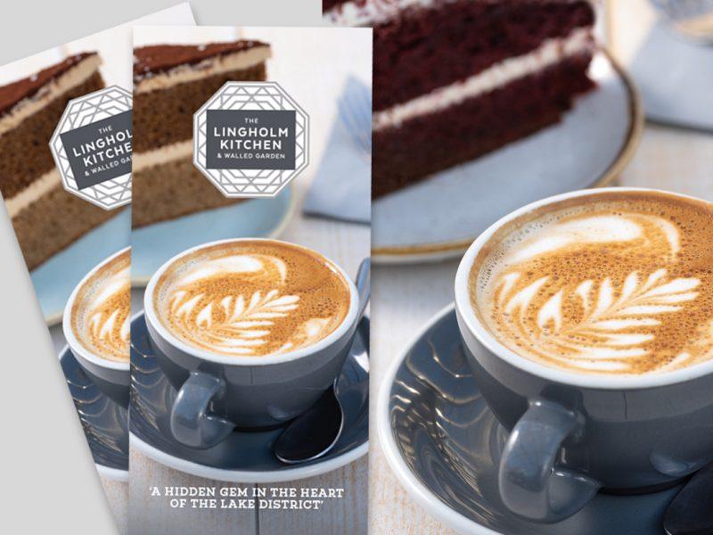 Cafe leaflet design