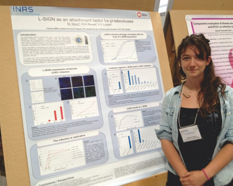 First poster presentation of Marilou