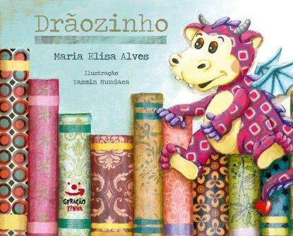 Livro em português - Capa Drãozinho