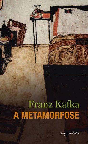 Capa do livro A Metamorfose de Franz Kafka
