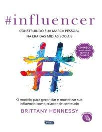 Capa do livro - #Influencer - Livros em português do Brasil | Buobooks.com