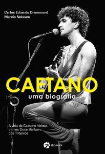 Capa do livro Caetano Uma Biografia