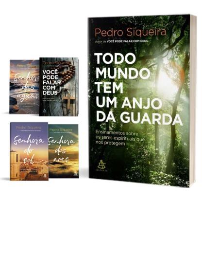 Combo 5 livros do Pedro Siqueira em português do Brasil na Buobooks.com