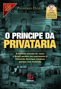 Capa do livro O príncipe da privataria