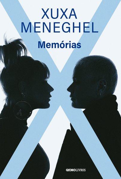 Capa do livro Memórias de Xuxa Meneguel