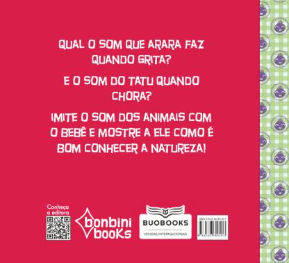 Capa do livro EU VI UM BICHINHO