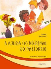Capa do livro A ajuda do negrinho do pastoreio