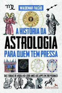 Capa do livro A história da astrologia para quem tem pressa