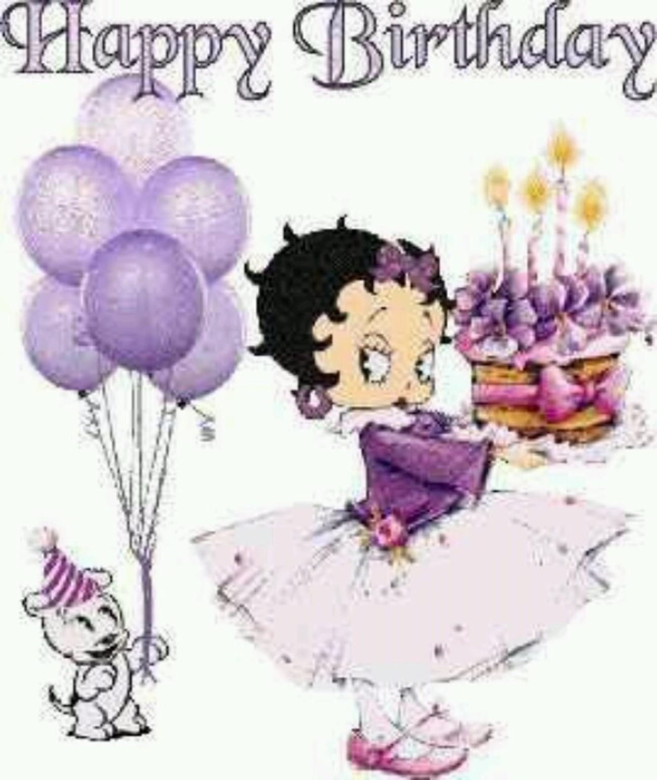 Buon Compleanno Betty Boop 142