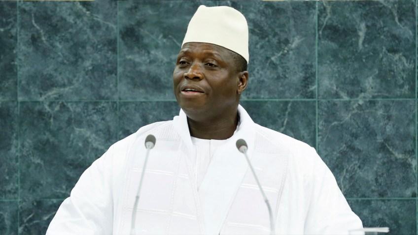 Hadji Yahya Jammeh Presidente del Gambia