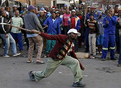 Sudafrica razzista