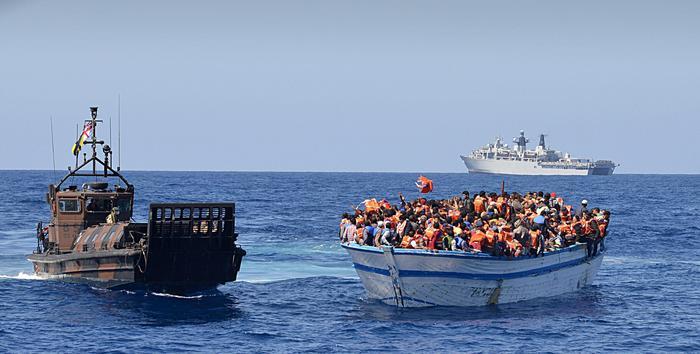 La civilissima Europa, i migranti e Maroni