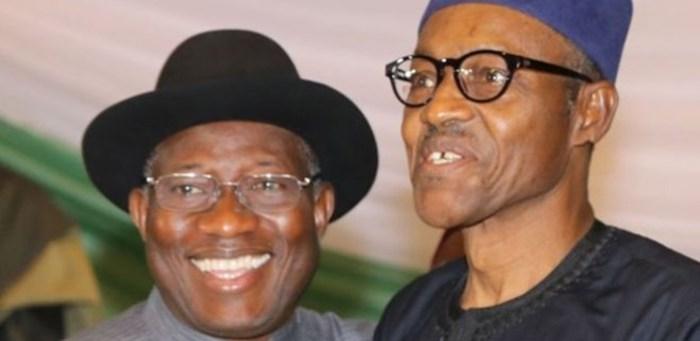 Goodlook Jonathan e Muahammadu Buhari