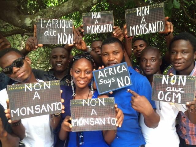 Proteste contro Monsanto
