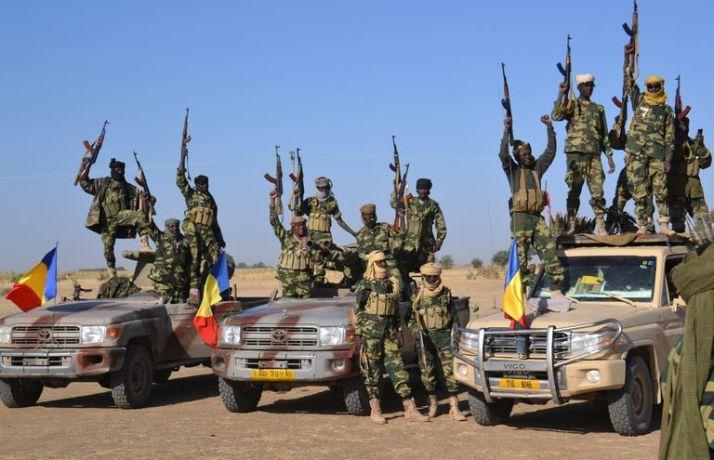 Truppe del Ciad nella lotta a Boko Haram