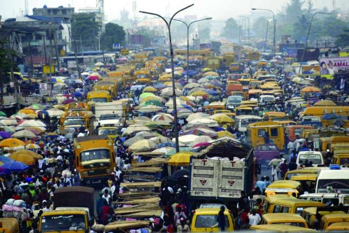 L'incredibile traffico di lagos