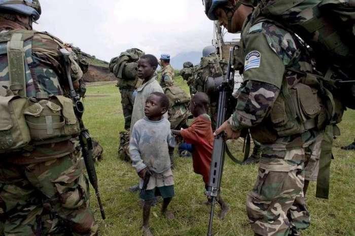 La missione Internazionale nelle regioni orientali del Congo (KEYSTONE/EPA/SARAH ELLIOTT)