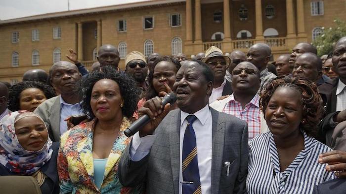 Elezioni in Kenya ottobre 2017