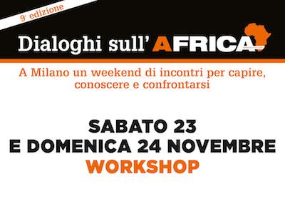 Workshop Dialoghi sull'Africa