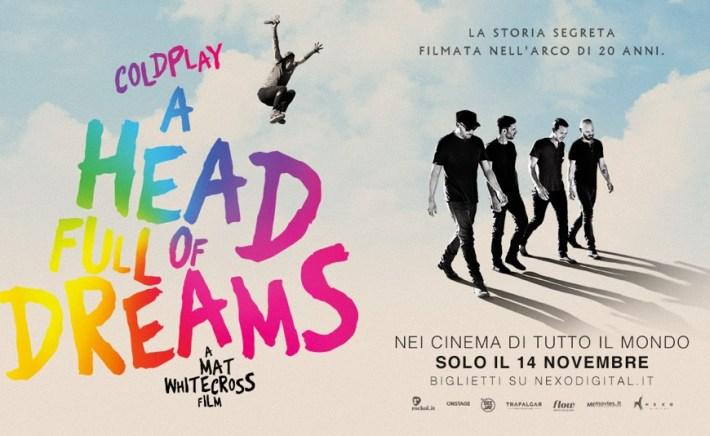 I Coldplay: 'A head full of dreams', film evento in anteprima mondiale