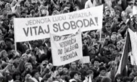 Domani sono 29 anni dall'inizio della Rivoluzione di velluto