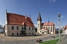 Bardejov, la piazza patrimonio Unesco