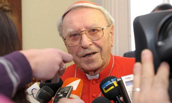 Cardinale Jan Chryzostom Korec (foto tvnoviny)