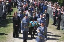 Galko al memoriale di Stefanik a Bradlo