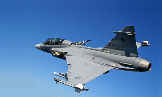 Gripen Saab Jas-39 (foto_wiki)