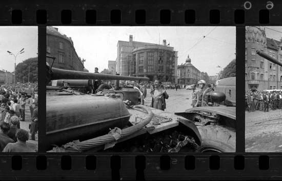 Ladislav Bielik, Bratislava 21. August 1968 (invasione Cecoslovacchia - © L.Bielik)