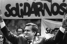 Lech Walesa, leader di Solidarnosc