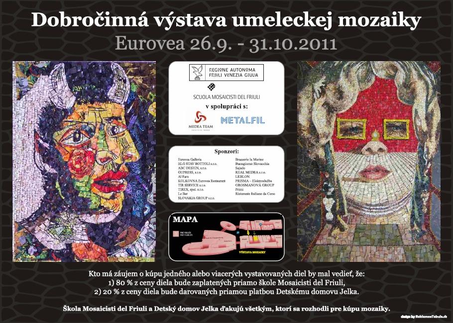 Il Mosaico italiano, raro e prezioso, si svela a Bratislava per stupire e conquistare il cuore degli slovacchi
