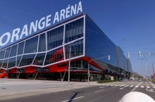 Orange Arena, stadio dell'hockey a Bratislava
