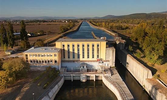 Slovenske Elektrarne, centrale idroelettrica Horna Streda