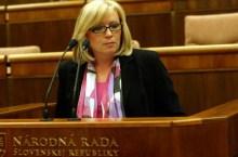 radicova in parlamento