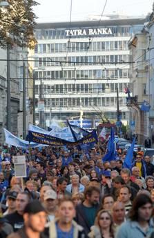 protesta sindacale