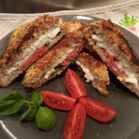 Mozzarella in carrozza light