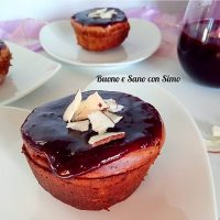 Cheesecake Fit ai mirtilli