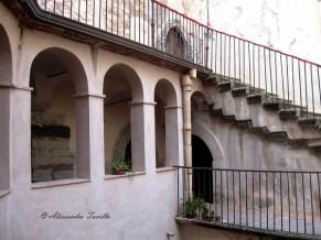 Scorcio interno del Castello dei Ventimiglia - Castelbuono