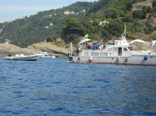 Da San Fruttuoso a Santa Margherita con barca